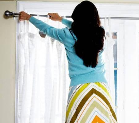 Чистка штор в хімчистці фото