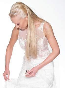 Чистка весільної сукні фото
